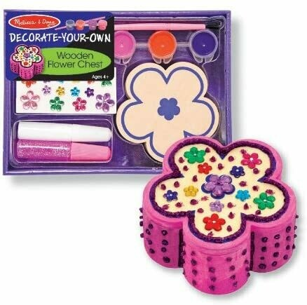 Melissa And Doug; Dyo Flower Chest