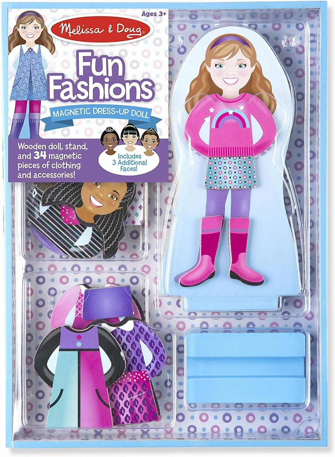 Melissa And Doug; Magnetic Dress Up - Fun Fashions