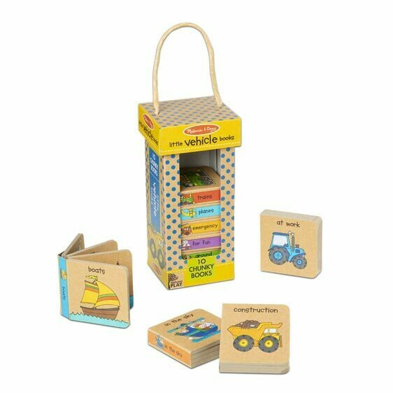 Melissa And Doug; Np Book Tower: Little Vehicle Books