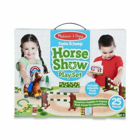 Melissa And Doug; Train Jump Horse Show