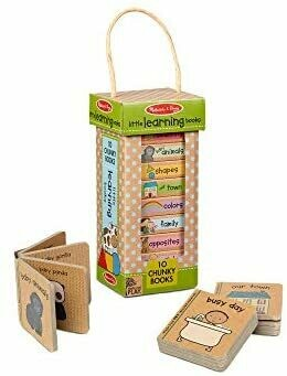 Melissa And Doug; Np Book Tower: Little Learning Books