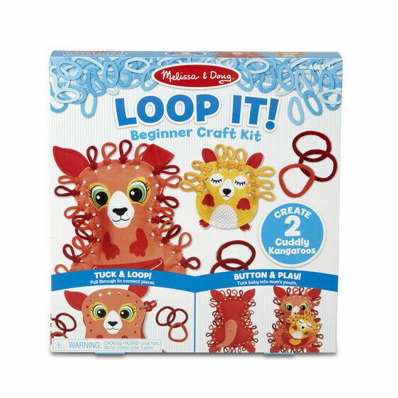 Melissa And Doug; Loop It! - Cuddly Kangaroos