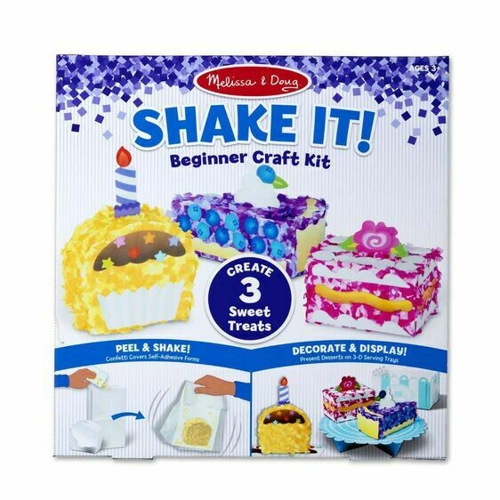 Melissa And Doug; Shake It! Beginner Craft Kit - Deluxe Sweet Treats