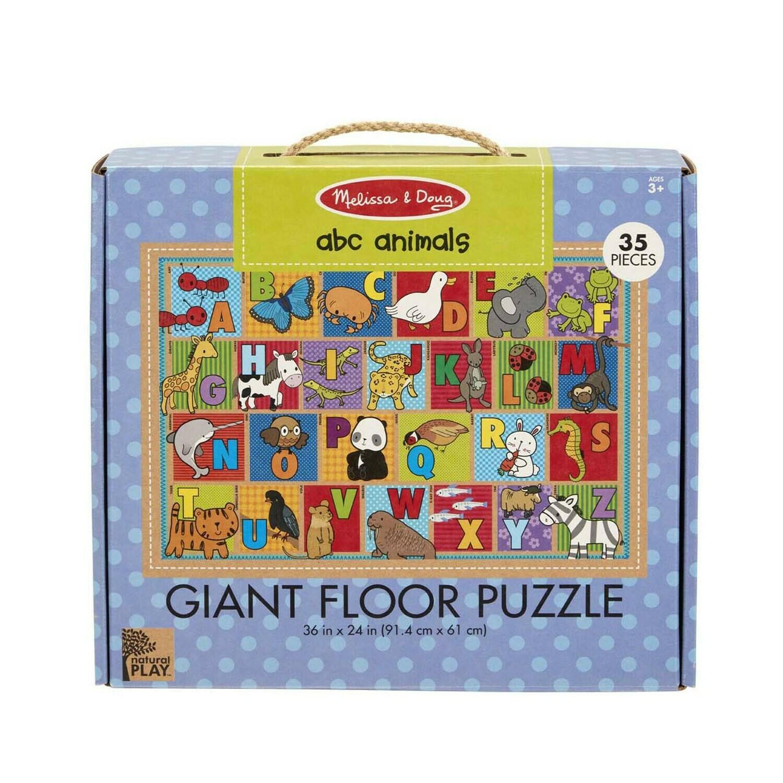 Melissa And Doug; Np Giant Floor Puzzle - Abc Animals