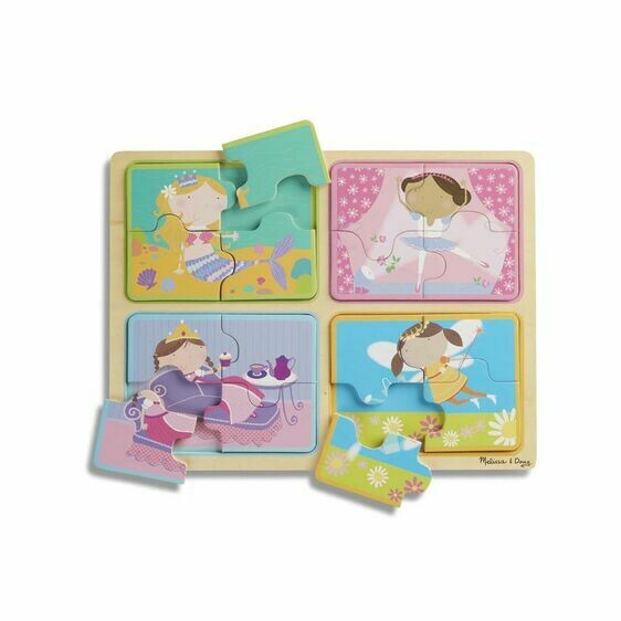 Melissa And Doug; NP Wooden Puzzle: Little Princess