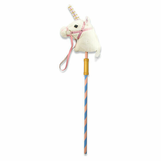 Melissa And Doug; Prance-N-Play Stick Unicorn