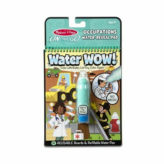 Melissa And Doug; On The Go Water Wow! - Occupations