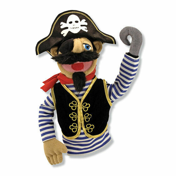 Melissa And Doug; Pirate - Puppet