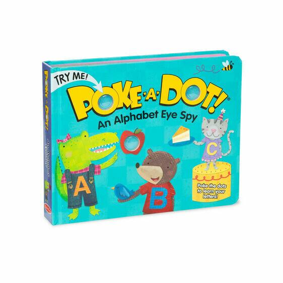 Melissa And Doug; Poke-A-Dot: Alpha Eye Spy