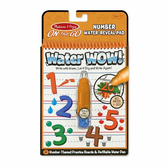 Melissa And Doug; Water Wow! - Numbers