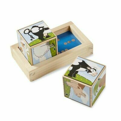 Melissa and Doug; Farm Sound Blocks