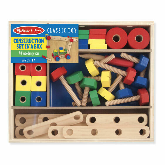 Melissa And Doug; Construction Set In A Box