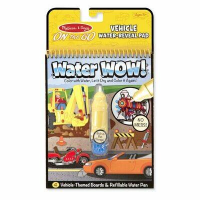 Melissa And Doug; Water Wow! - Vehicles