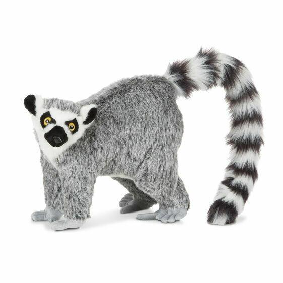 Melissa And Doug; Lemur - Plush
