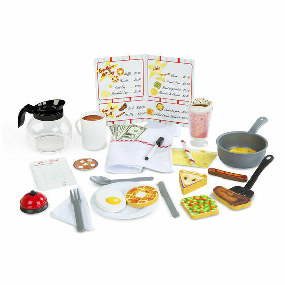 Melissa And Doug; Star Diner Restaurant Play Set
