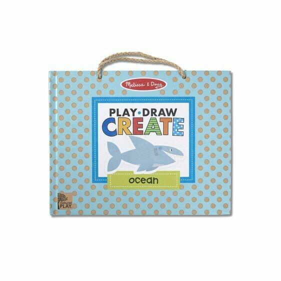 Melissa And Doug; Play, Draw, Create - Ocean