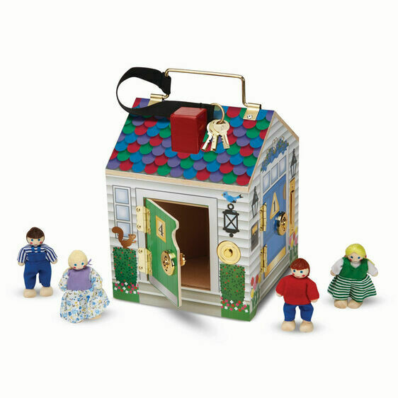 Melissa And Doug; Doorbell House