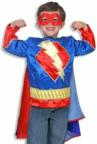 Melissa And Doug; Super Hero - Boy Role Play