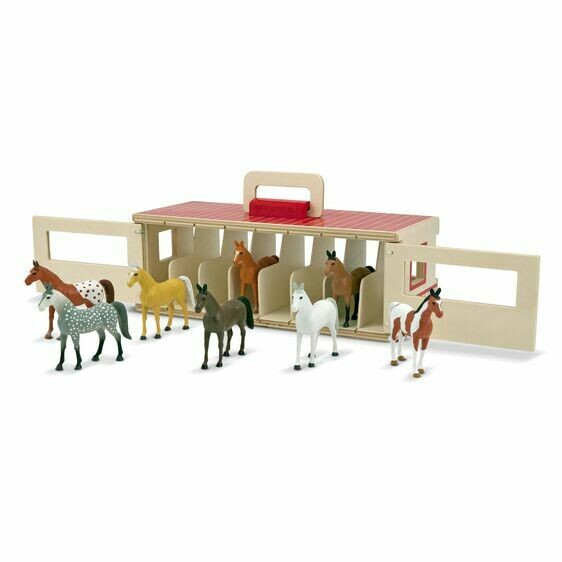 Melissa And Doug; Show-Horse Stable