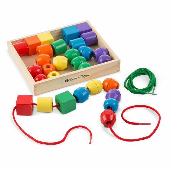 Melissa And Doug; Primary Lacing Beads