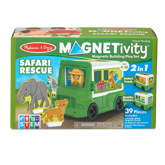 Melissa And Doug; Safari Animal Rescue Truck