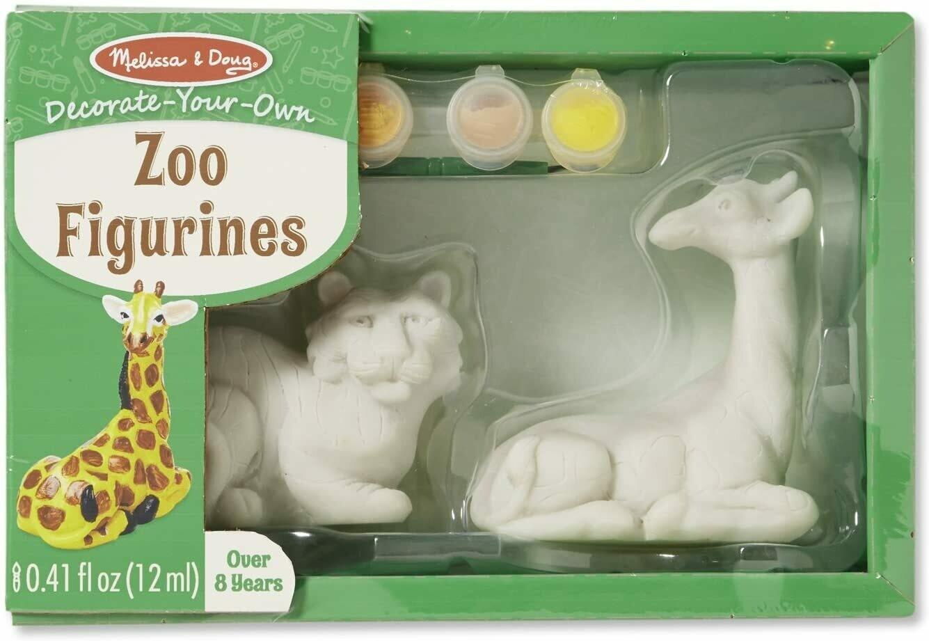 Melissa And Doug; Zoo Figurines