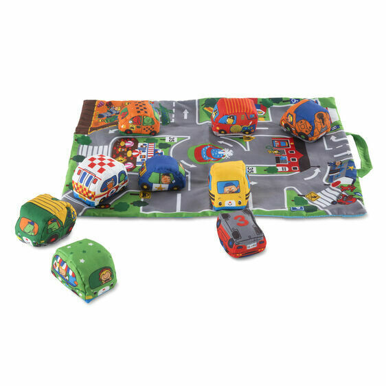 Melissa And Doug; Take-Along Town Play Mat