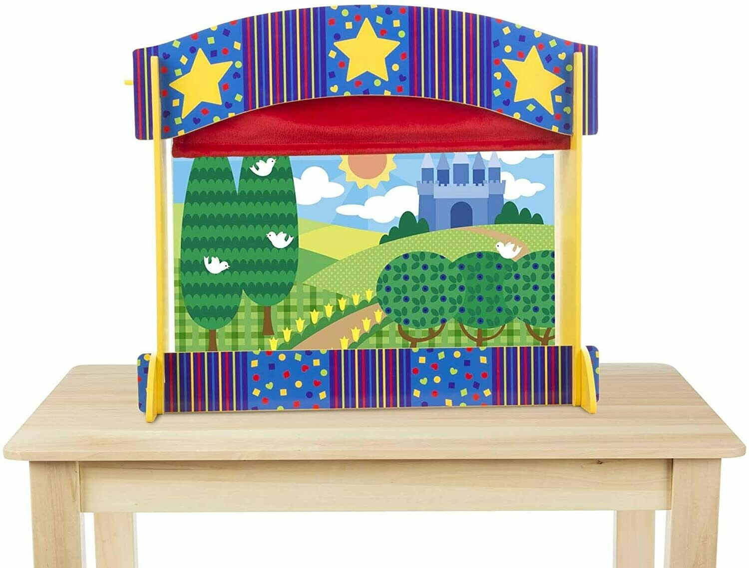 Melissa And Doug; Tabletop Puppet Theatre