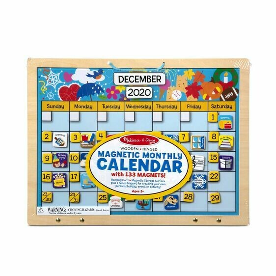 Melissa And Doug; Magnetic Monthly Calander