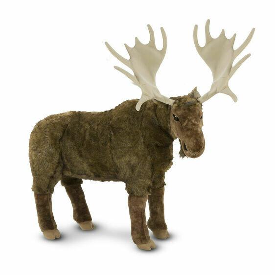 Melissa And Doug; Moose - Plush