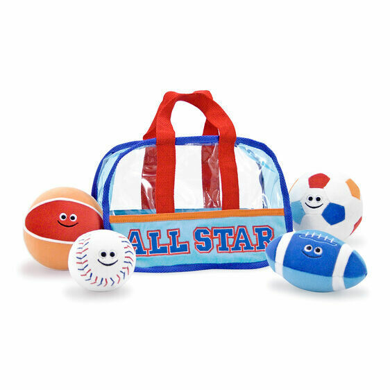Melissa And Doug; Sports Bag Fill And Spill