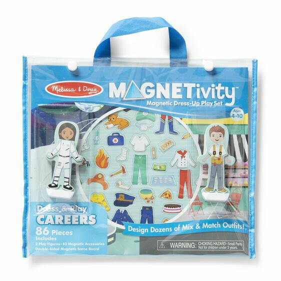 Melissa And Doug; Magnetivity - Dress & Play Careers