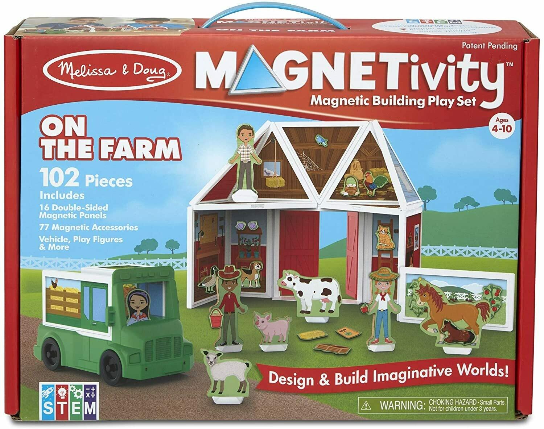 Melissa And Doug; Magnetivity - On The Farm