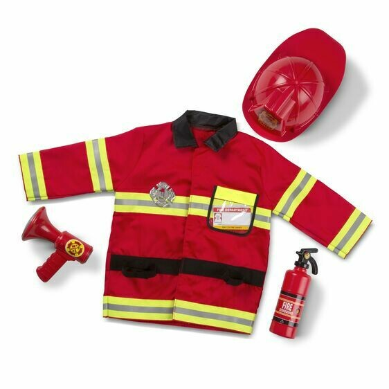 Melissa And Doug; Fire Chief Role Play Set