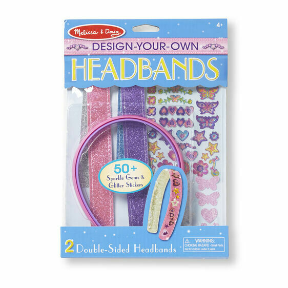 Melissa And Doug; Design-Your-Own Headbands