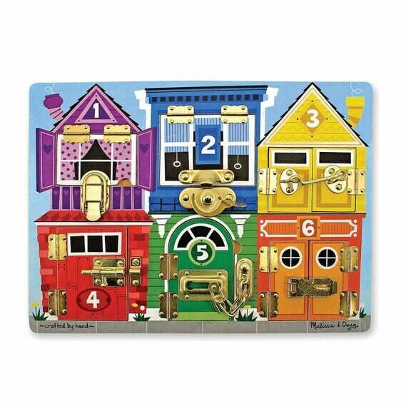 Melissa And Doug; Latches Board