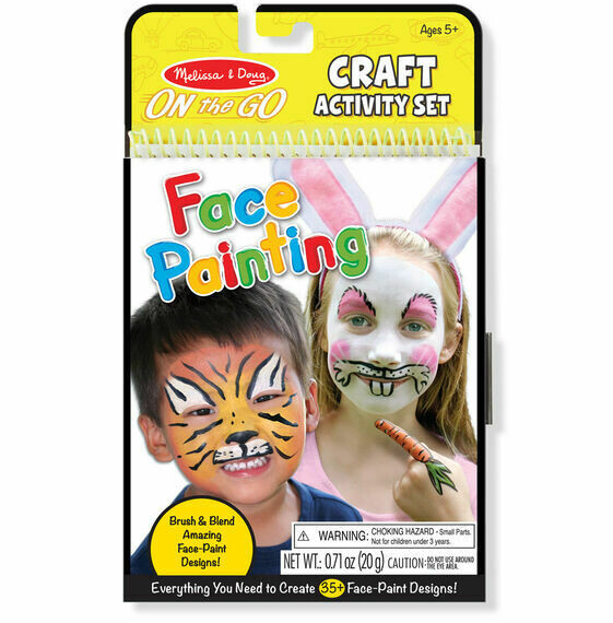 Melissa And Doug; On-The-Go Crafts - Face Painting