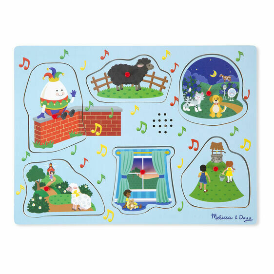 Melissa And Doug; Nursery Rhymes 2 - Sound Puzzle