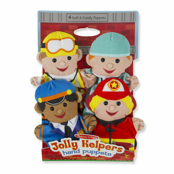 Melissa And Doug; Jolly Helpers Hand Puppets