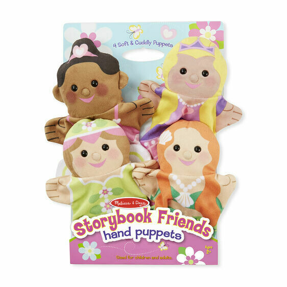Melissa And Doug; Storybook Friends Hand Puppets