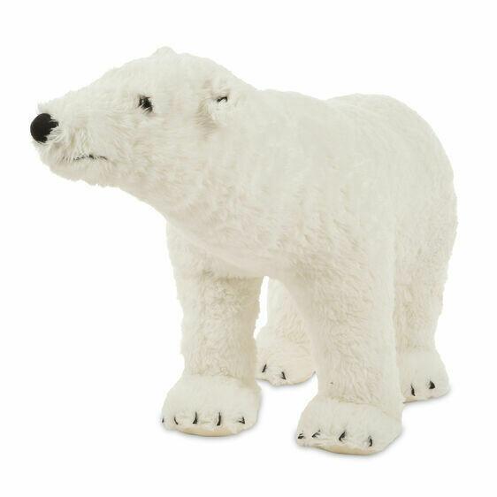 Melissa And Doug; Polar Bear - Plush