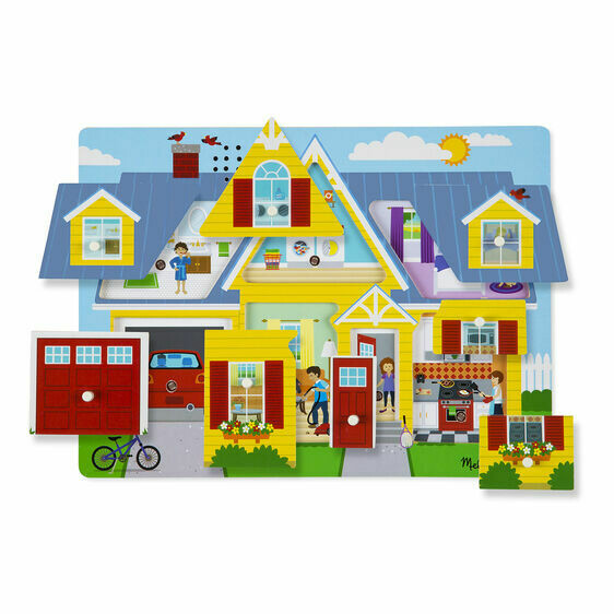 Melissa And Doug; Around The House Sound Puzzle