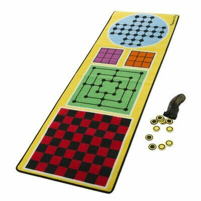 Melissa And Doug; 4-In-1 Game Rug