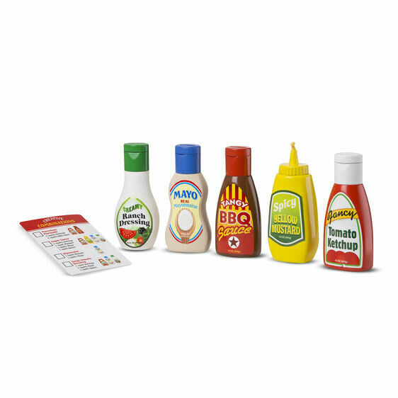 Melissa And Doug; Favorite Condiments