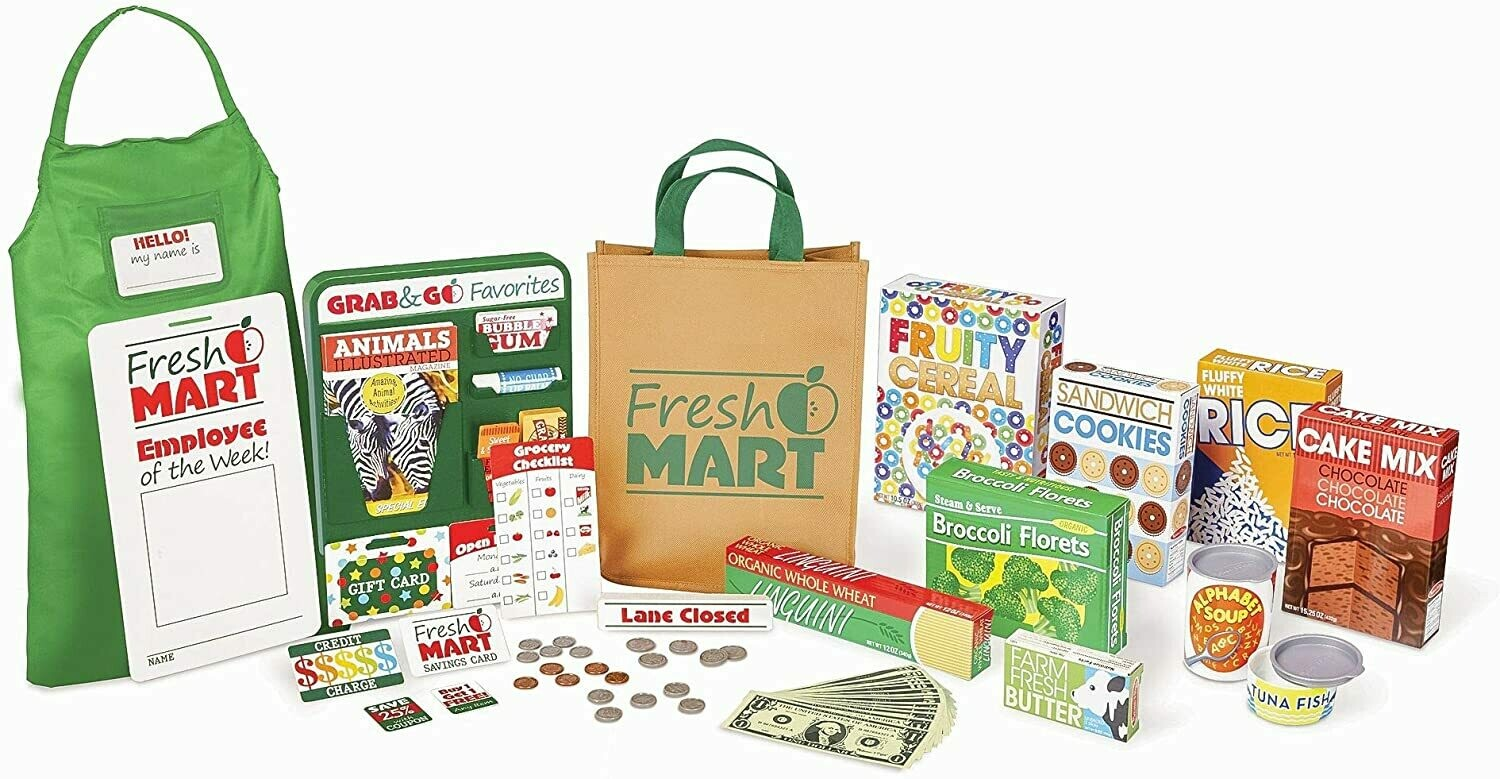 Melissa And Doug; Fresh Mart Grocery Store Companion Collection5183