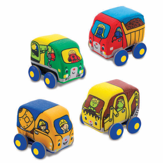 Melissa And Doug; Pull Back Construction Vehicles