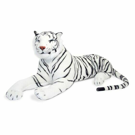 Melissa And Doug; White Tiger - Plush