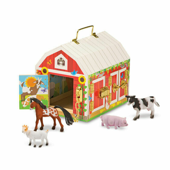 Melissa And Doug; Latches Barn