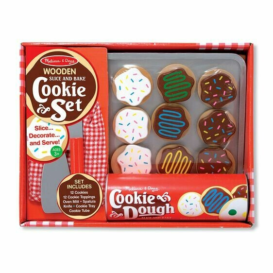 Melissa And Doug; Wooden Cookie Set