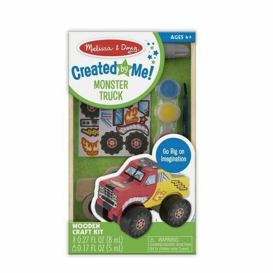 Melissa And Doug; Dyo Monster Truck